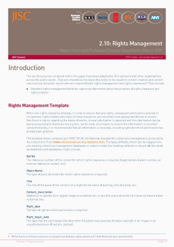 2.10: Rights Management