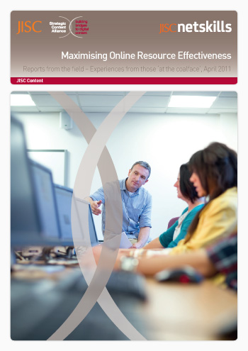 Maximising online resource effectiveness:  Reports from the field – Experiences from those 'at the coalface'
