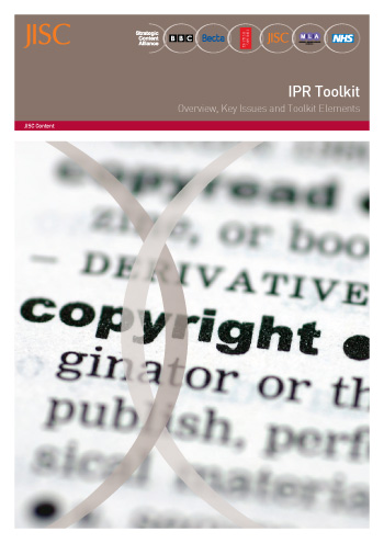 IPR Toolkit- Section 3: Template policy statements